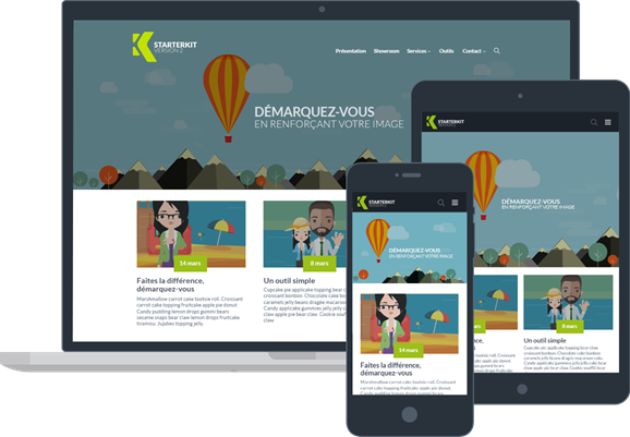Starter Kit - Gestion de site internet